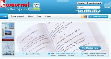 Twournal - Make a Book of your Tweets - Twitter Journal | Personal Learning Network | Scoop.it