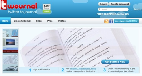 Twournal - Make a Book of your Tweets - Twitter Journal | KgTechnology | Scoop.it