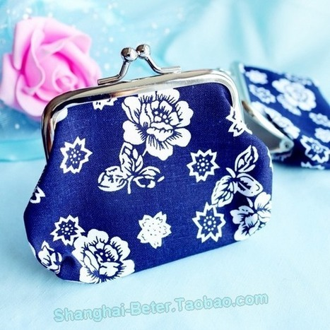 Beter Gifts®Bridal Shower Favor Bag ZH034 Asian Coin Purse Candy Box | 純歐式婚禮喜糖盒 倍樂婚品 | Scoop.it