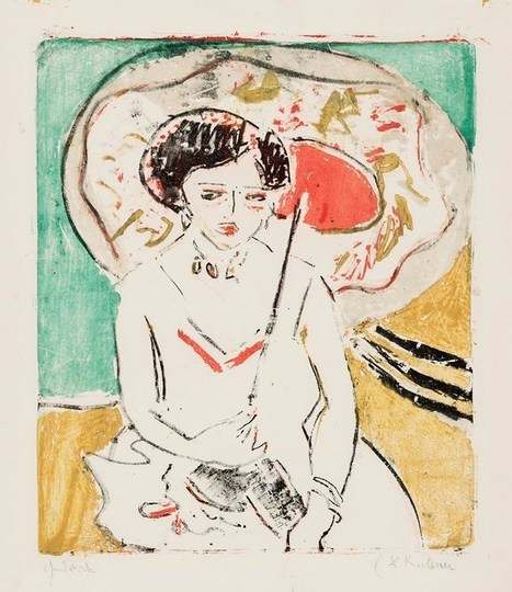 The Remarkable Expressionism of Ernst Ludwig Kirchner | Engagement Art In Company | Scoop.it