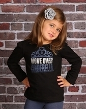 Royal Brat Move Over Cinderella Glitter Shirt   online shopping Baby Clothes & kids clothes   Scoop.it
