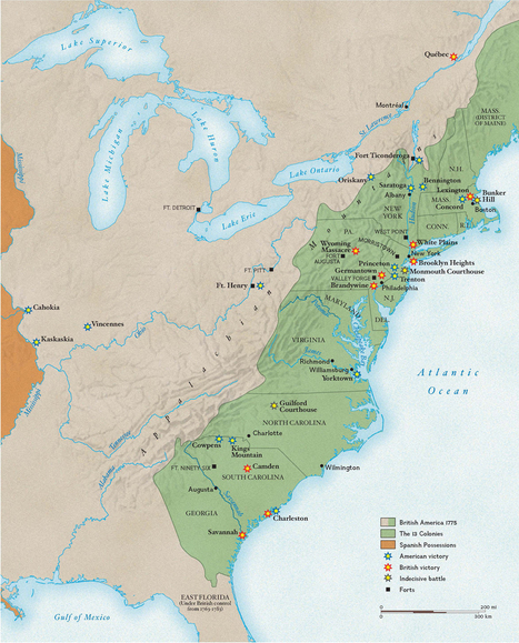 Revolutionary War Battles | Geography Education | Scoop.it