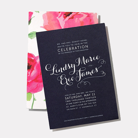 25 Creative Wedding Invitation Designs For Every Style Of Celebration | Wedding Ideas | Everything Else | Scoop.it