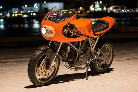 Peel Out: MOD Moto's Very Orange Ducati 750SS | Ductalk Ducati News | Scoop.it