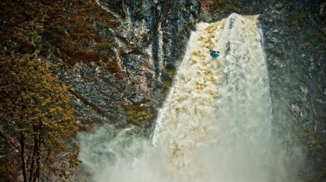 82 ft Salza Drop First and Second Descent - Kayak Session Magazine | Kayaking | Scoop.it