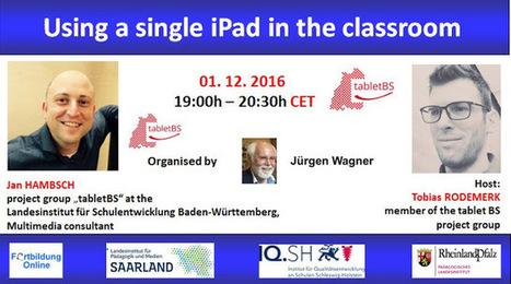 Webinar: Using a single iPad in the classroom | ESL & ICT | Scoop.it