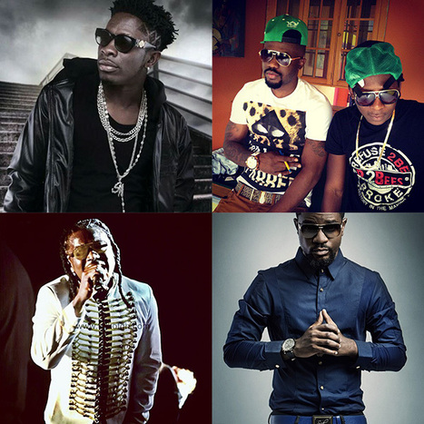 Shatta Wale, Sarkodie R2Bees, Stonebwoy, nominated for Ghana DJs award | i love you | Scoop.it