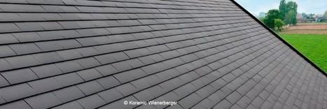 L'ardoise céramique, développée par Koramic Wienerberger | Conseil construction de maison | Scoop.it