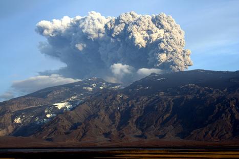 Préparez-vous au nuage de cendres, un volcan islandais se réveille | Planete DDurable | Scoop.it