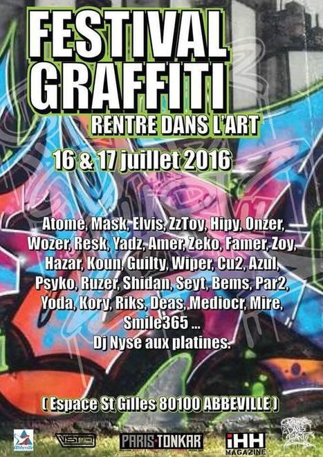 Festival graffiti // Rentre dans l'art | Tous les événements à ne pas manquer ! | Scoop.it