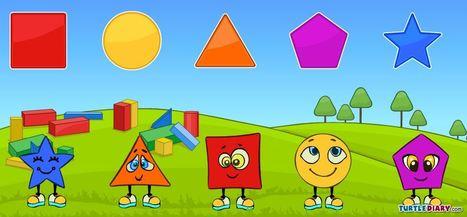 Match Shapes - Matching Game for Preschool Kids | Jogos n@ Pré | Scoop.it