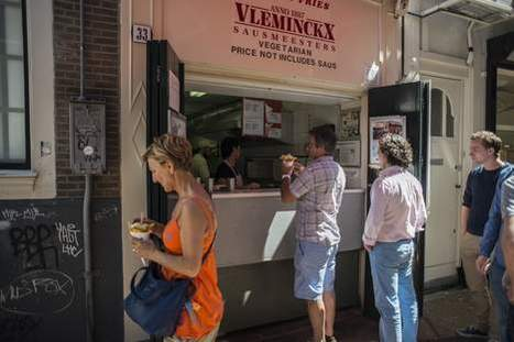 Vlaamse Friteshuis, Map to the best Fries in Amsterdam | Full Fridge Free Guide to Amsterdam | Scoop.it