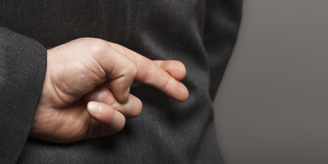 Why Fibbing Isn't All Bad - Huffington Post | Where has all the trust gone? | Scoop.it