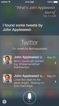 In iOS 7, Twitter takes over social -- again - CNET | Social Media: Engage, Explore, Express, and Eliminate Stress | Scoop.it
