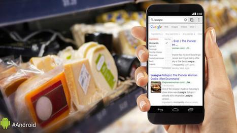 Google incluye listado de ingredientes al buscar recetas - ComputerHoy | Alimentos y Tecnología | Scoop.it