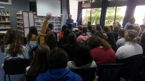 Ο Χρήστος Ζερβής μιλάει στους μαθητές του Λυκείου | TA NEA TOY LFH | Scoop.it
