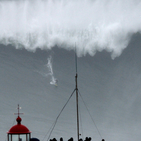 Surfer Carlos Burle may have broken big wave record in Portugal @investorseurope | Culture, Humour, the Brave, the Foolhardy and the Damned | Scoop.it
