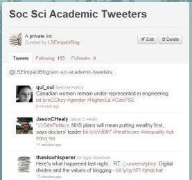 Your favourite academic tweeters: lists available to browse by subject area | KgTechnology | Scoop.it