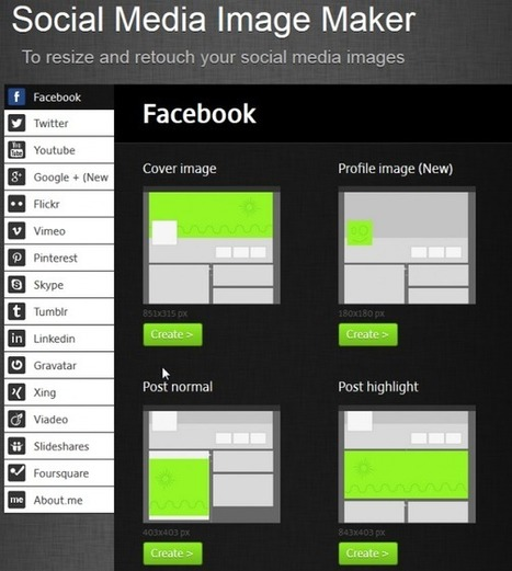 Social Media Image Maker: create images for social networks - | Social Media y RRSS | Scoop.it