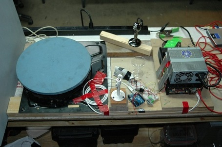Working 3D Scanner Built with Junk Parts in 24 Hours | FabLab today | Scoop.it