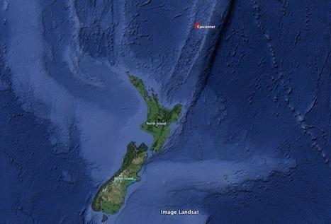 Séisme de magnitude 6 au Nord de la Nouvelle-Zélande - Tahiti Infos | Agents de voyages : ça bouge ! | Scoop.it