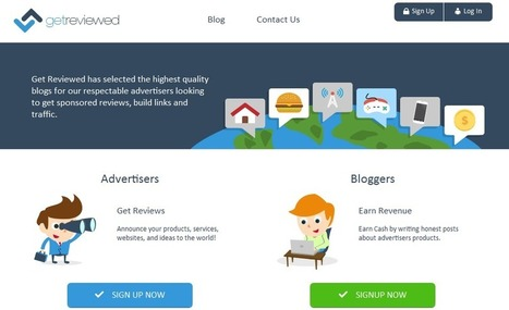 GetReviewed review : Blog advertising network | Blogger | Scoop.it