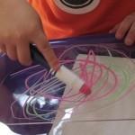 Mini-plexiglass easels for the preschool classroom | Color | Scoop.it