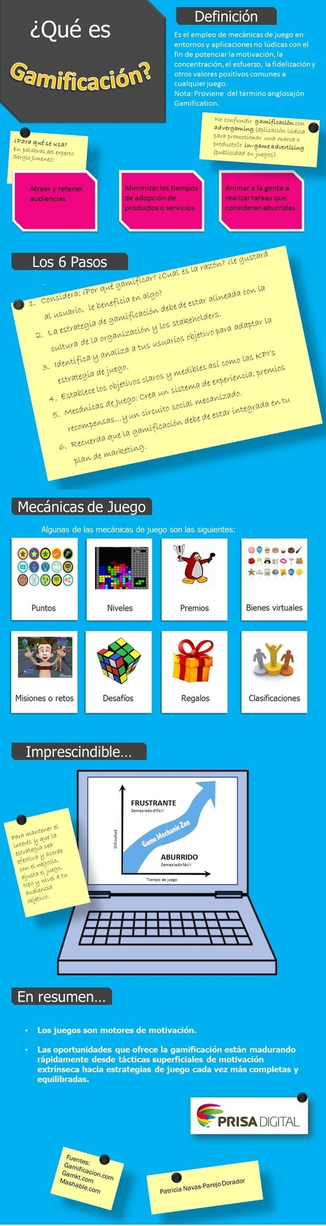 Qué es gamificación #infografia #infographic | (I+D)+(i+c): Gamification, Game-Based Learning (GBL) | Scoop.it