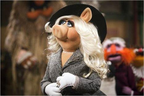 Avec le retour des Muppets aucinéma, Miss Piggy devient une bête de mode | La perception des produits MAC en France | Scoop.it