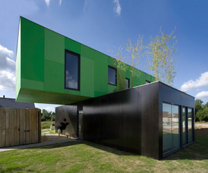 Crossbox, Eco-Friendly House by CG Architects | materialicious | Decoration & home staging | Scoop.it