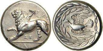 Numarius: Las quimeras de Sición – Las monedas más bellas del mundo antiguo | Mundo Clásico | Scoop.it