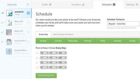 ¿Cuál es el mejor horario para publicar en Twitter? (Herramientas online + infografía) | Información & Documentación | Scoop.it