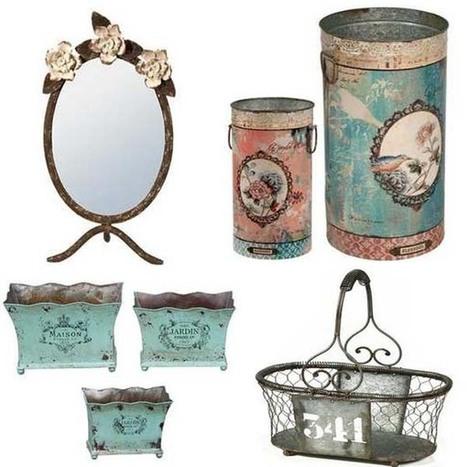 Accesorios y complementos decorativos vintage para primavera.   Mil ideas de Decoración   Accesorios decoración   Scoop.it