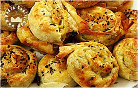 Gül Böreği Tarifi | Poğaça Tarifleri - Börek Tarifleri | Scoop.it