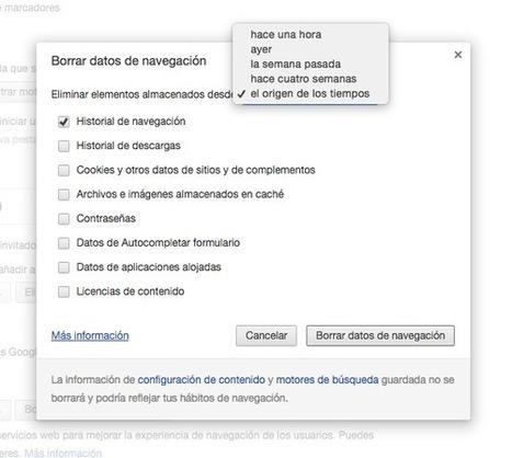 Cómo eliminar el rastro de tu uso y navegación de Google Chrome | TIC | Scoop.it