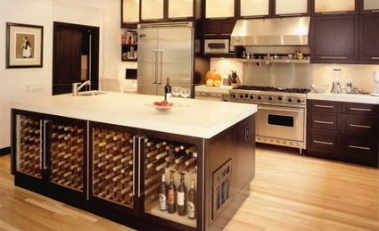 A Kitchen for Wine Lovers | Home & Office Styling | Scoop.it