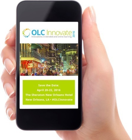 2016 Innovations in Blended and Online Learning A Joint Conference Presented by OLC and MERLOT - April 20-22, New Orleans | blended learning | Scoop.it