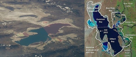 Utah's Great Salt Lake is shrinking | Scientific anomalies | Scoop.it