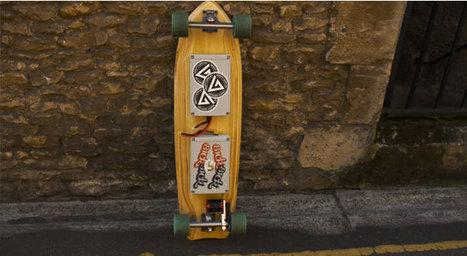 Un skate électrique sous Raspberry Pi zéro qui grimpe à 30 Km/h   Raspberry pi   Scoop.it