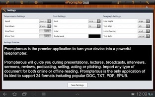 Prompterous - Applications Android sur GooglePlay   Android Apps   Scoop.it
