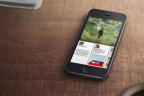 The Quiet Upheaval of Facebook's New iPhone App - The Atlantic | Iphone Apps | Scoop.it