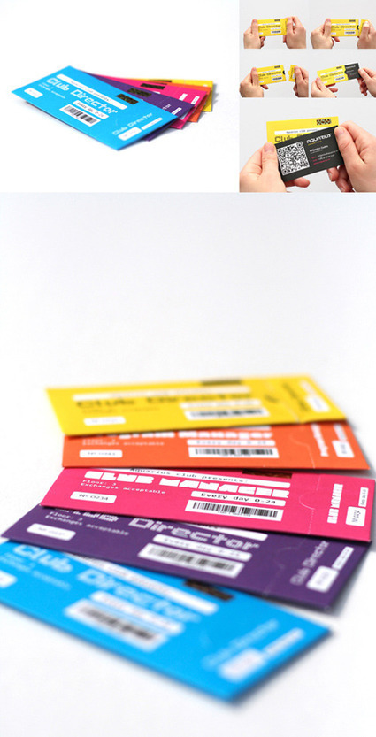 34 Examples of Business Card Designs with QR Code   VIM   Scoop.it