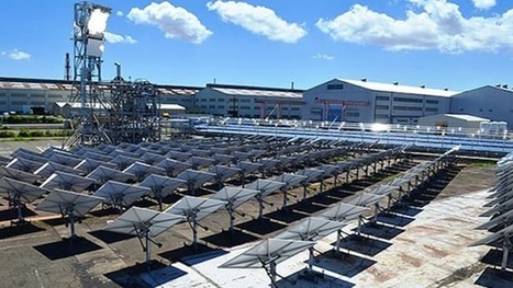 Cheaper hybrid concentrated solar power plant design put to the test | Sustainable Technologies | Scoop.it