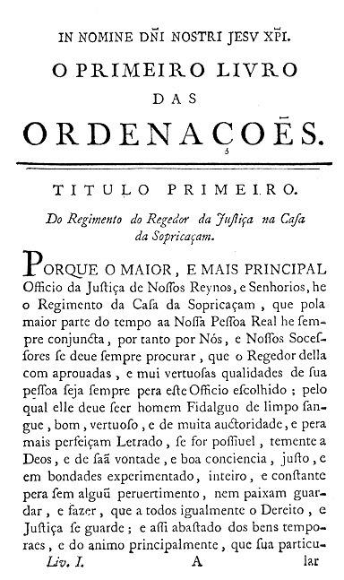 Ordenações Manuelinas on-line | Direito Português | Scoop.it