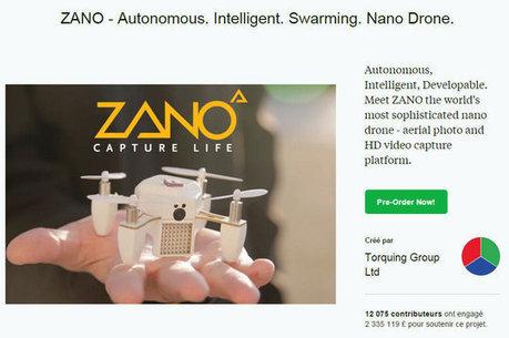 Une start-up de drones ayant levé 3,3millions d'euros sur Kickstarter met la clé sous la porte | Entrepreneurs du Web | Scoop.it