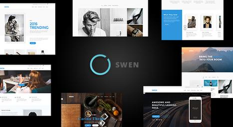 Swen - Creative Multi-Purpose WordPress Theme (Business) - Creative WordPress Theme | Creative Wordpress Theme | Scoop.it