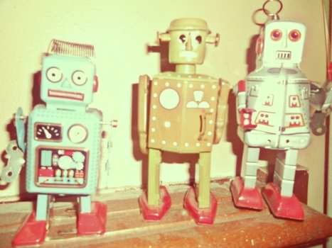 Vintage, Robots, Photos, Pub, Années 50 | Scoop.it | Comptoir Numérique | Scoop.it