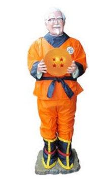 KFC's Colonel Sanders to Cosplay as Dragon Ball's Son Goku | Cosplay News | Scoop.it
