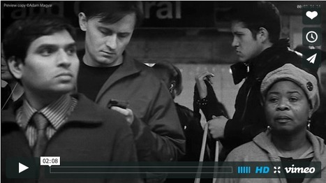 Adam Magyar   Mesmerizing Super Slow-Motion Footage of People Waiting for the Subway   What's new in Visual Communication?   Scoop.it