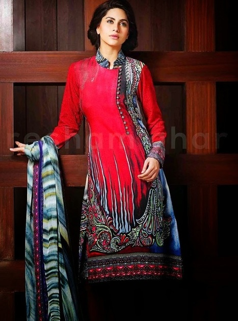 Resham Ghar Chiffon Outfit Collection 2015 For Female | Your Choice For Dress | Your choice for dress | Scoop.it